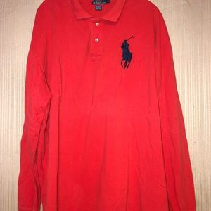 Men's Ralph Lauren long sleeve polo